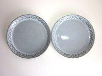 B&G(ビング&グロンデール)/ Relief/Cordialシリーズ ケーキプレート 2枚セット 印あり
