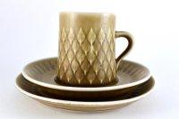 KRONJYDEN(クロニーデン)Relief/Leafシリーズ コーヒーカップ&ソーサ